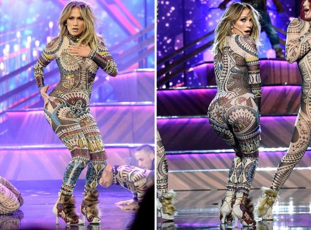 Jennifer Lopez KILLS Opening Act The 2015 AMAs!!! 46 years Young!!!