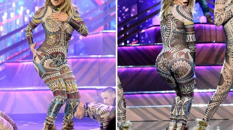 Jennifer Lopez KILLS Opening Act The 2015 AMAs