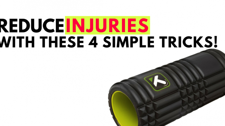 Reduce INJURIES With These 4 Simple Tricks!