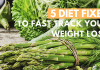 5 DIET FIXES FOR WEIGHTLOSS