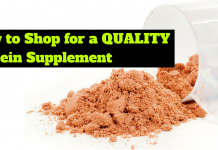 how to shop for a protein suppelement