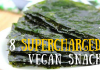 8 supercharged vegan snacks