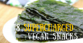 8 supercharged vegan snacks