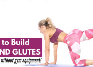 How to build glutes without gym equipment
