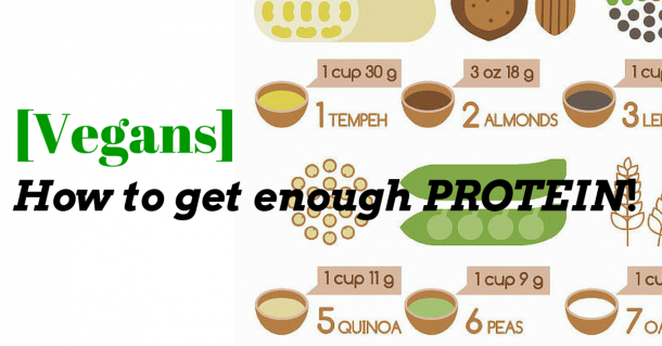 vegans get enough protein