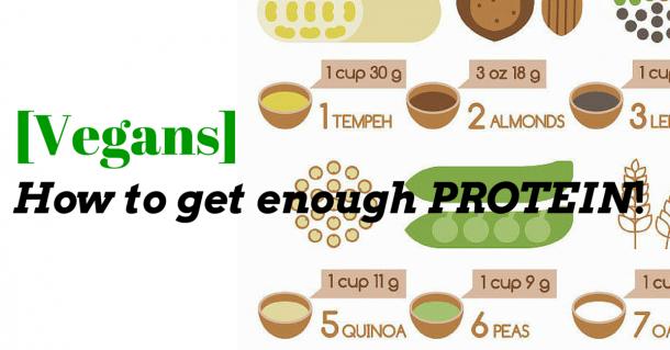 vegans get enough protein