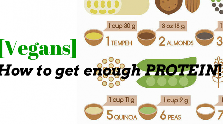 [VEGANS] How To Get Enough PROTEIN?