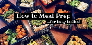 meal prep busy bodies