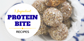 3 Ingredient Protien Bite Recipes